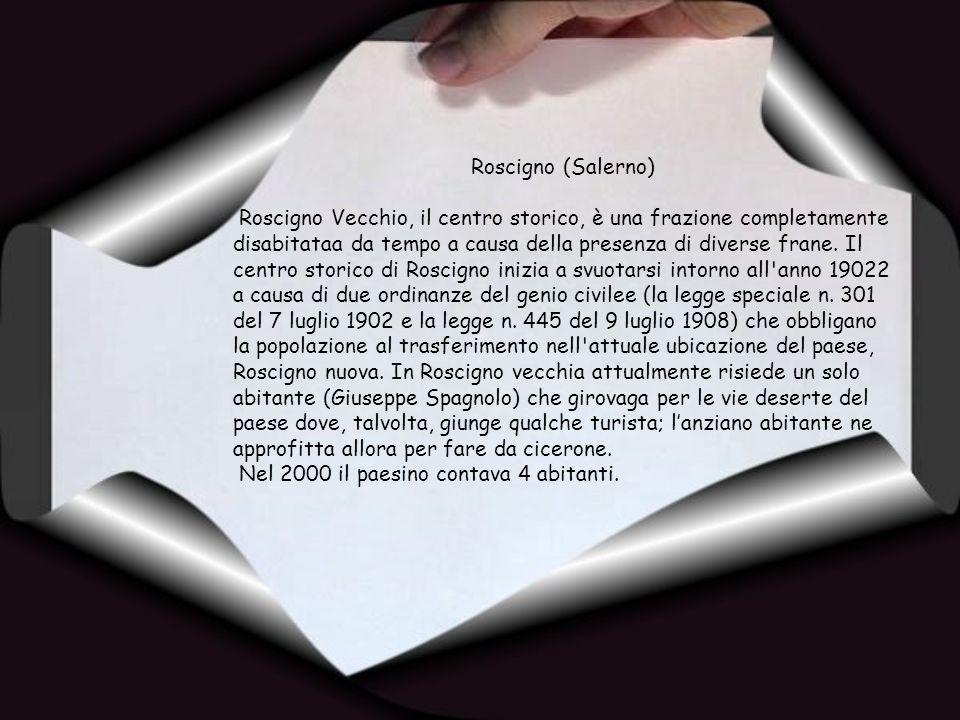 Roscigno (Salerno)
