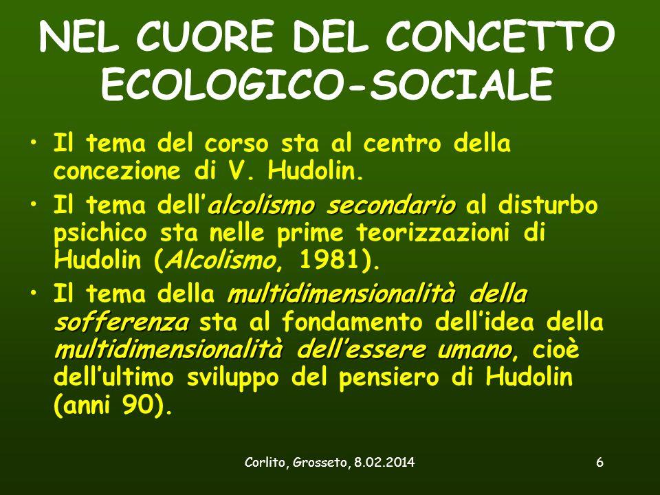 NEL CUORE DEL CONCETTO ECOLOGICO-SOCIALE