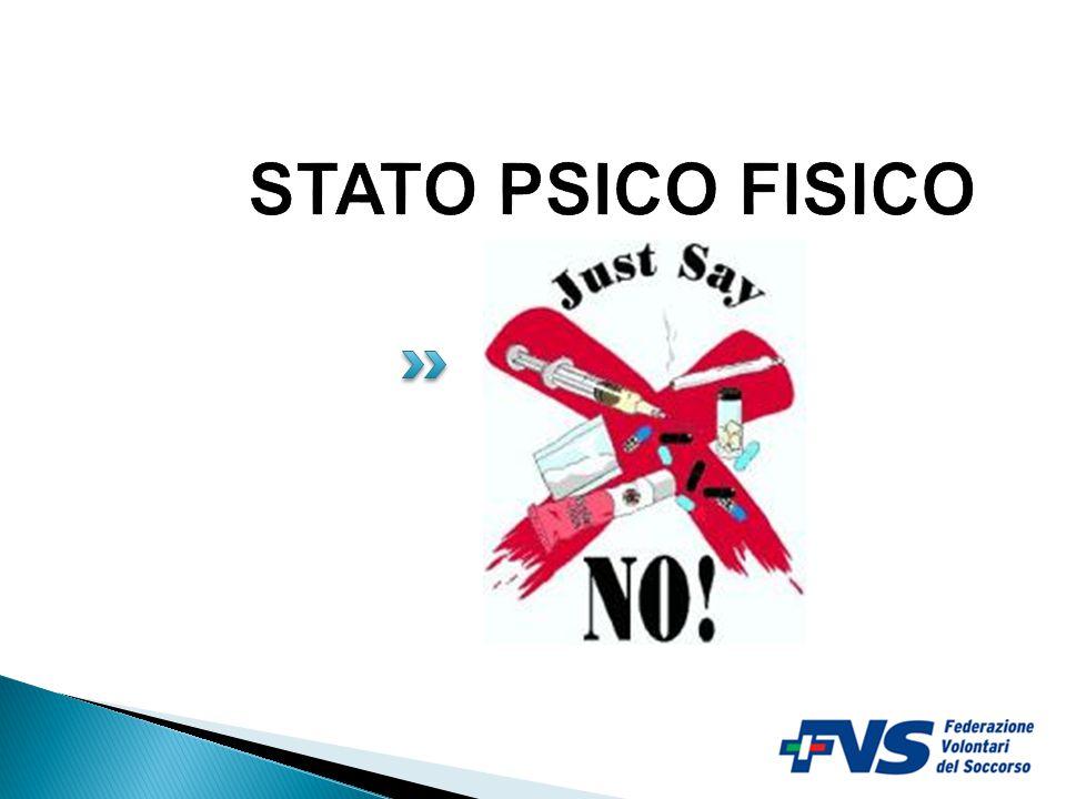 STATO PSICO FISICO