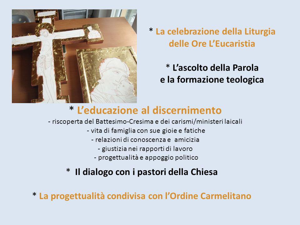 La celebrazione della Liturgia delle Ore L'Eucaristia