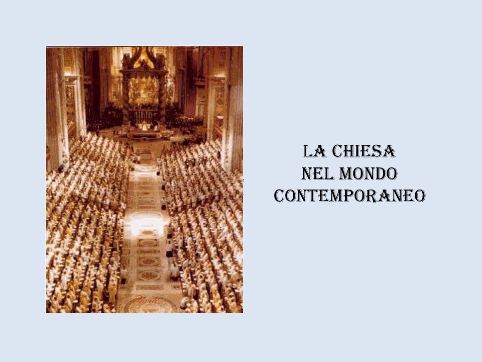 La Chiesa nel mondo contemporaneo