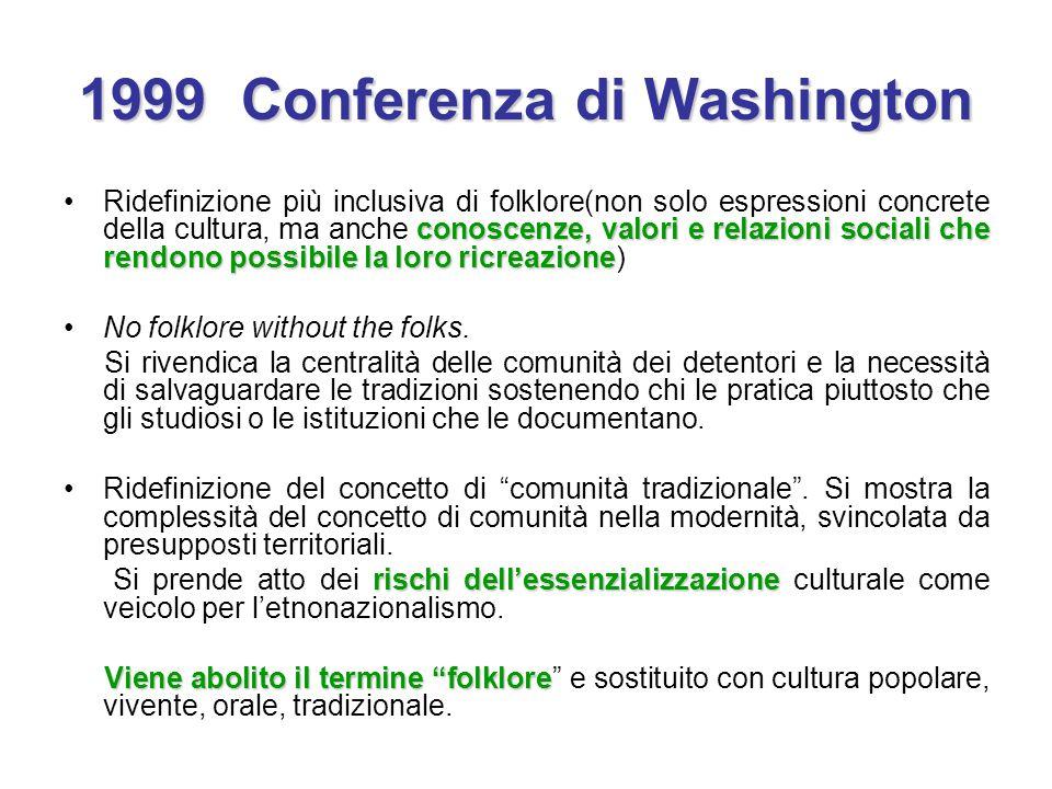 1999 Conferenza di Washington