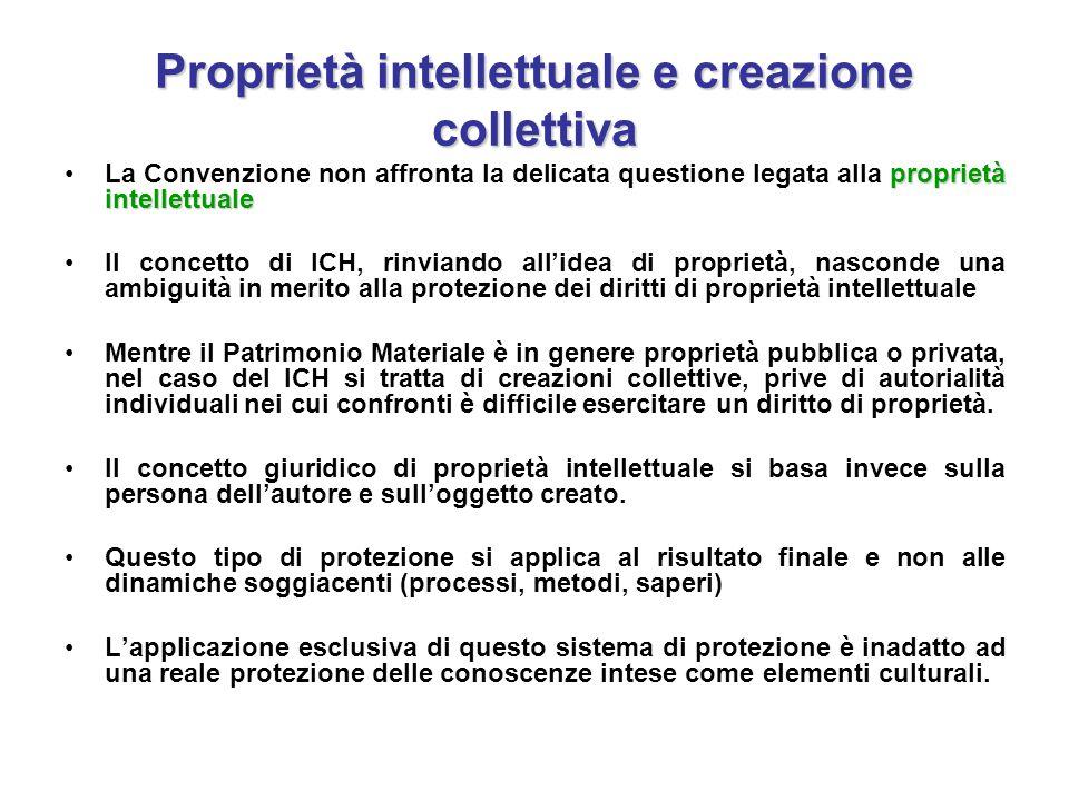 Proprietà intellettuale e creazione collettiva