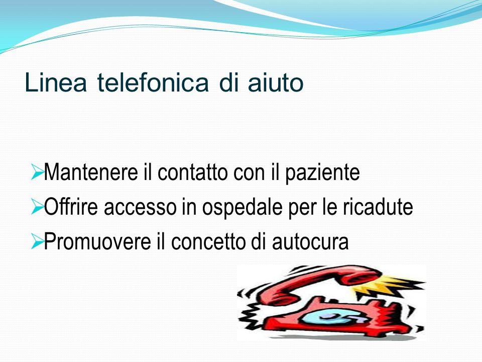 Linea telefonica di aiuto