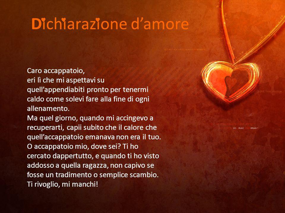 Dichiarazione d'amore