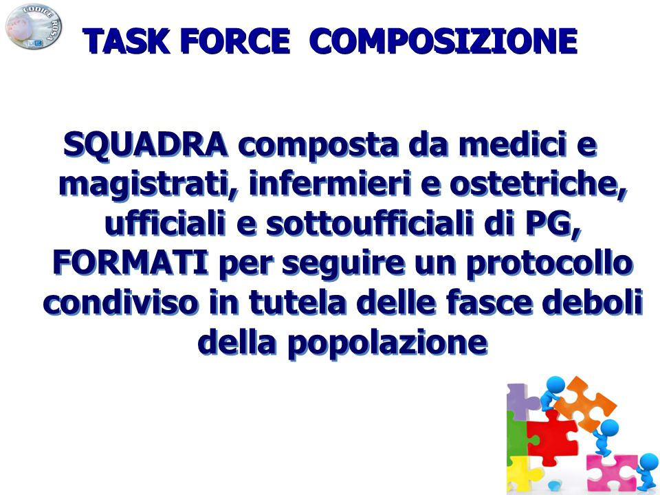 TASK FORCE COMPOSIZIONE