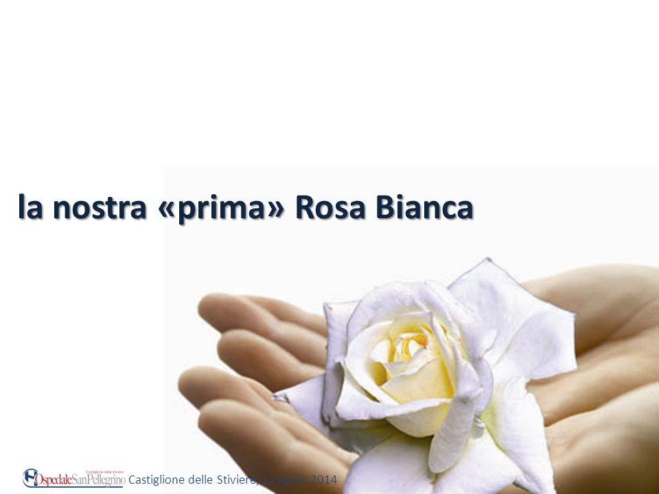 la nostra «prima» Rosa Bianca