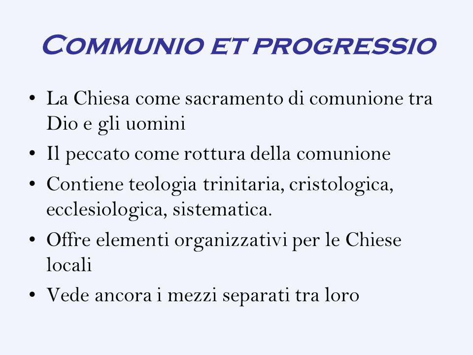 Communio et progressio