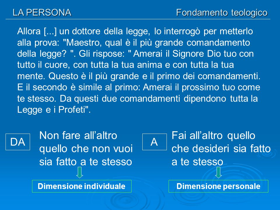 Dimensione individuale