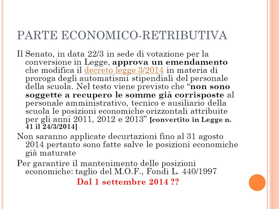 PARTE ECONOMICO-RETRIBUTIVA