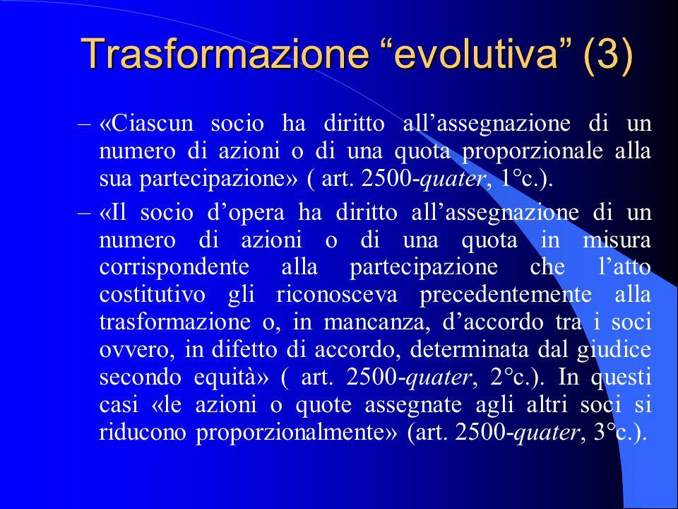 Trasformazione evolutiva (3)