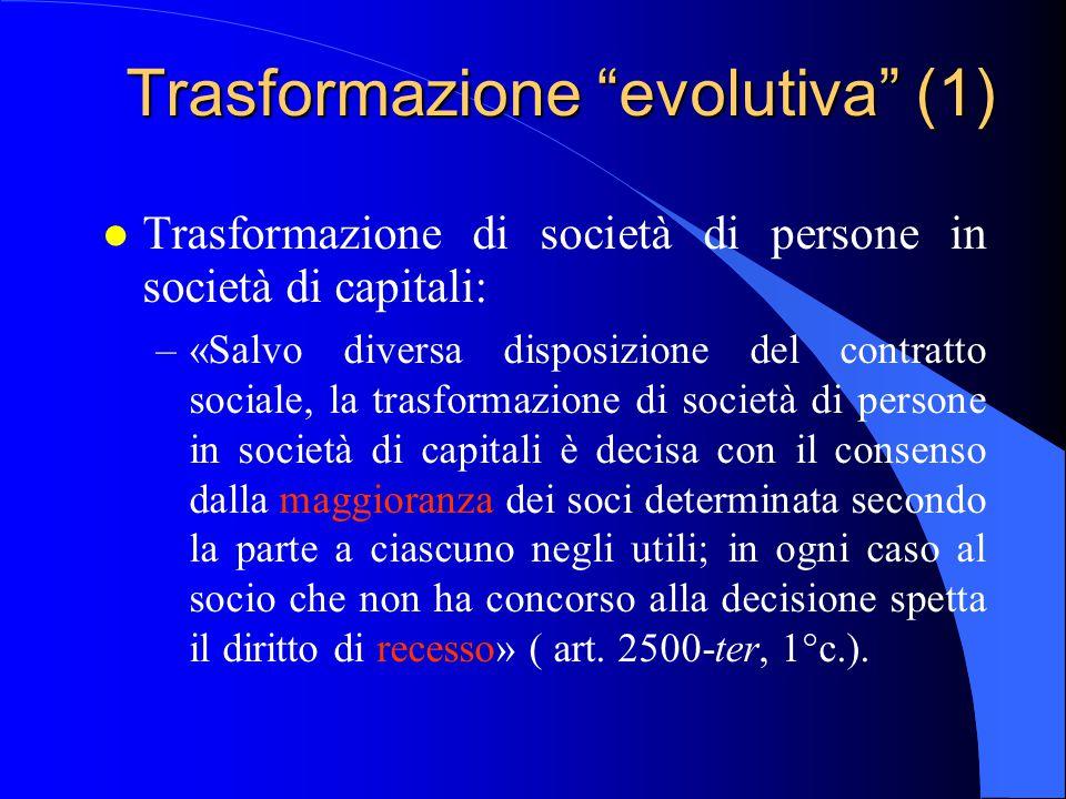 Trasformazione evolutiva (1)