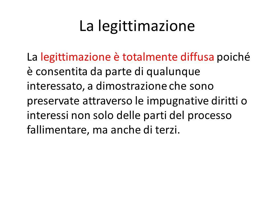 La legittimazione