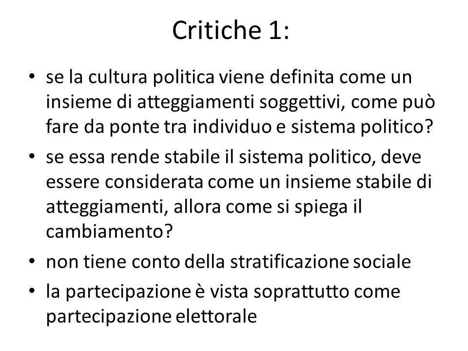 Critiche 1: