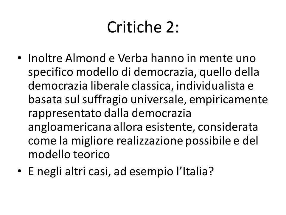 Critiche 2: