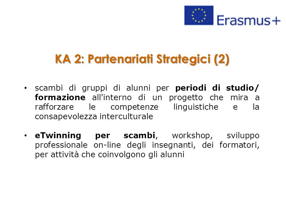 KA 2: Partenariati Strategici (2)
