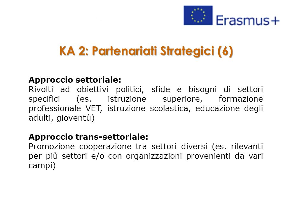 KA 2: Partenariati Strategici (6)
