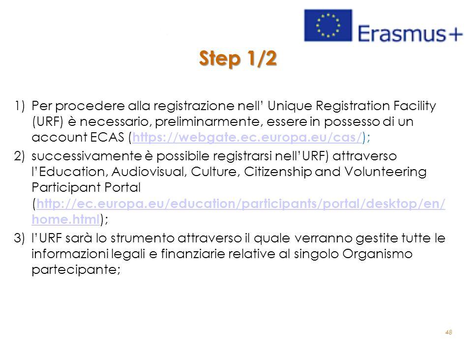 Step 1/2