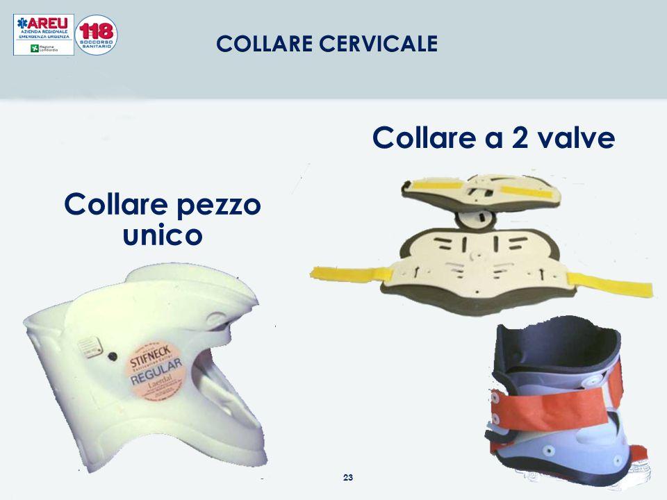 Collare a 2 valve Collare pezzo unico