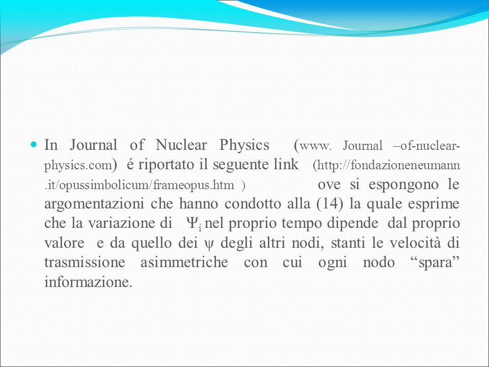 In Journal of Nuclear Physics (www. Journal –of-nuclear- physics