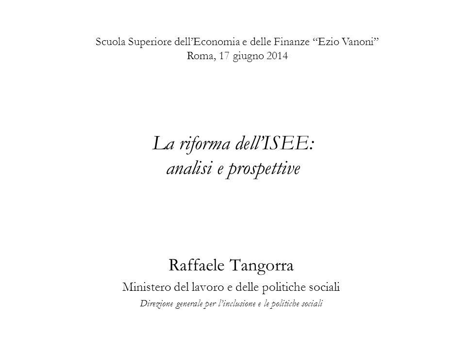 La riforma dell'ISEE: analisi e prospettive