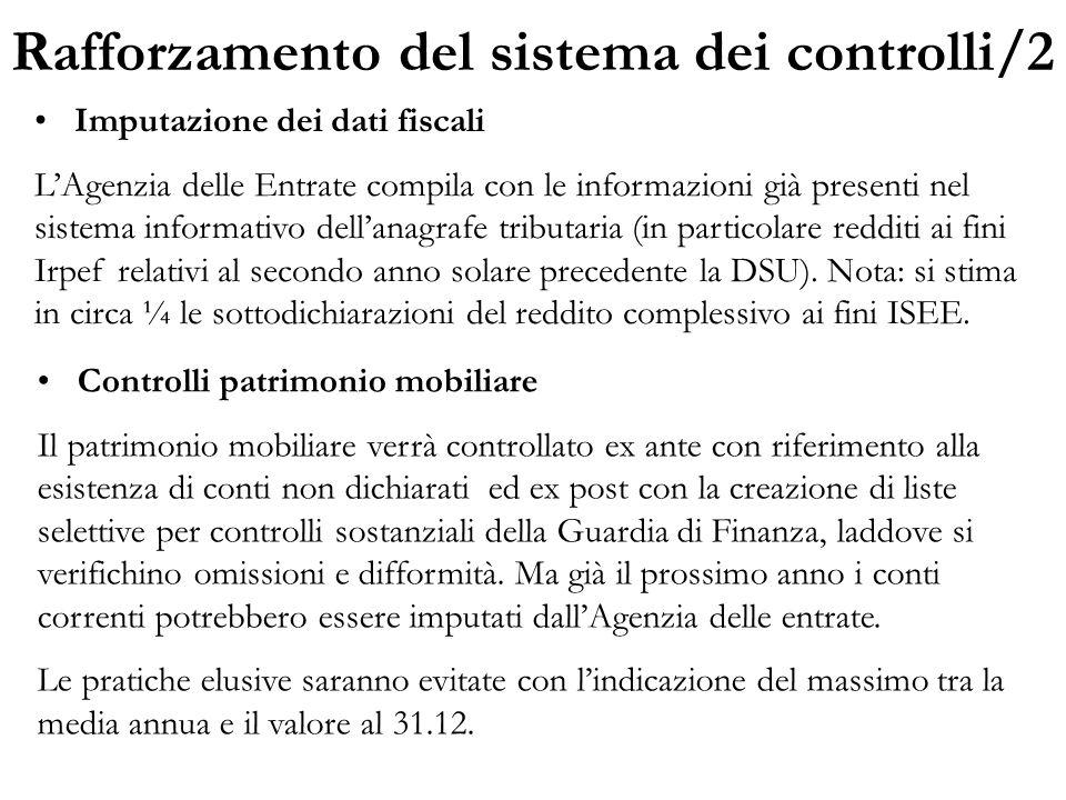 Rafforzamento del sistema dei controlli/2