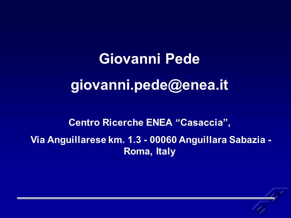Centro Ricerche ENEA Casaccia ,