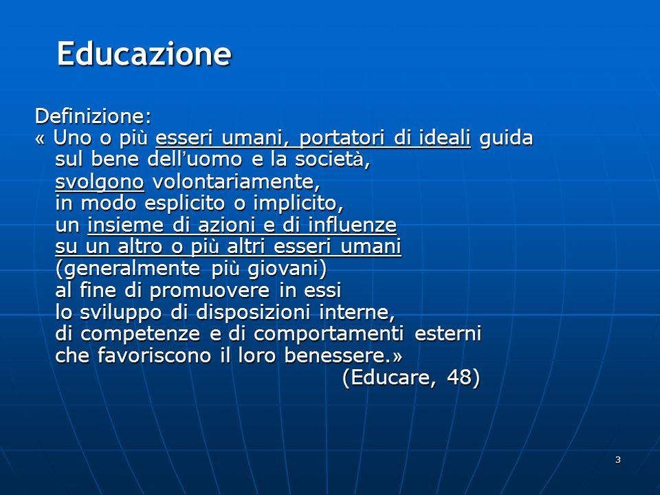 Educazione Definizione: