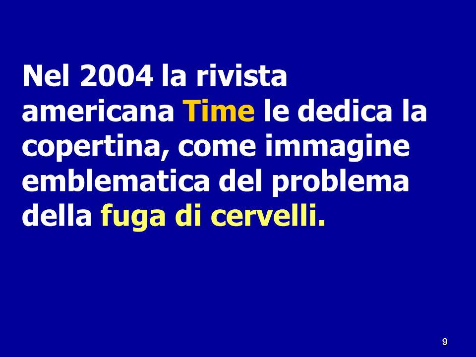Nel 2004 la rivista americana Time le dedica la copertina, come immagine emblematica del problema