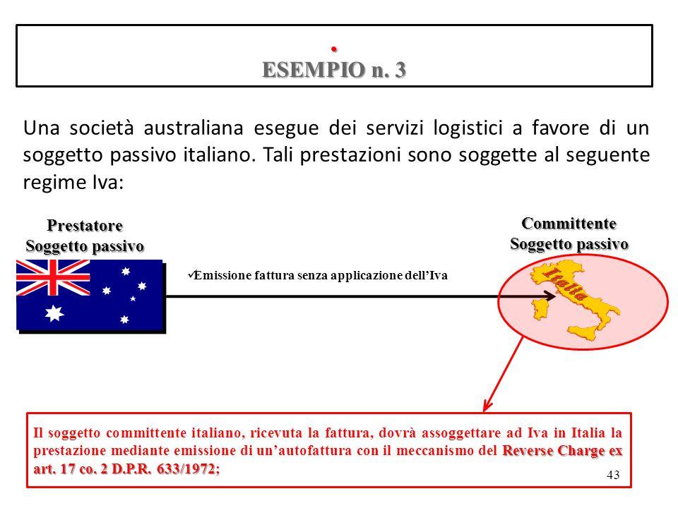 . ESEMPIO n. 3.