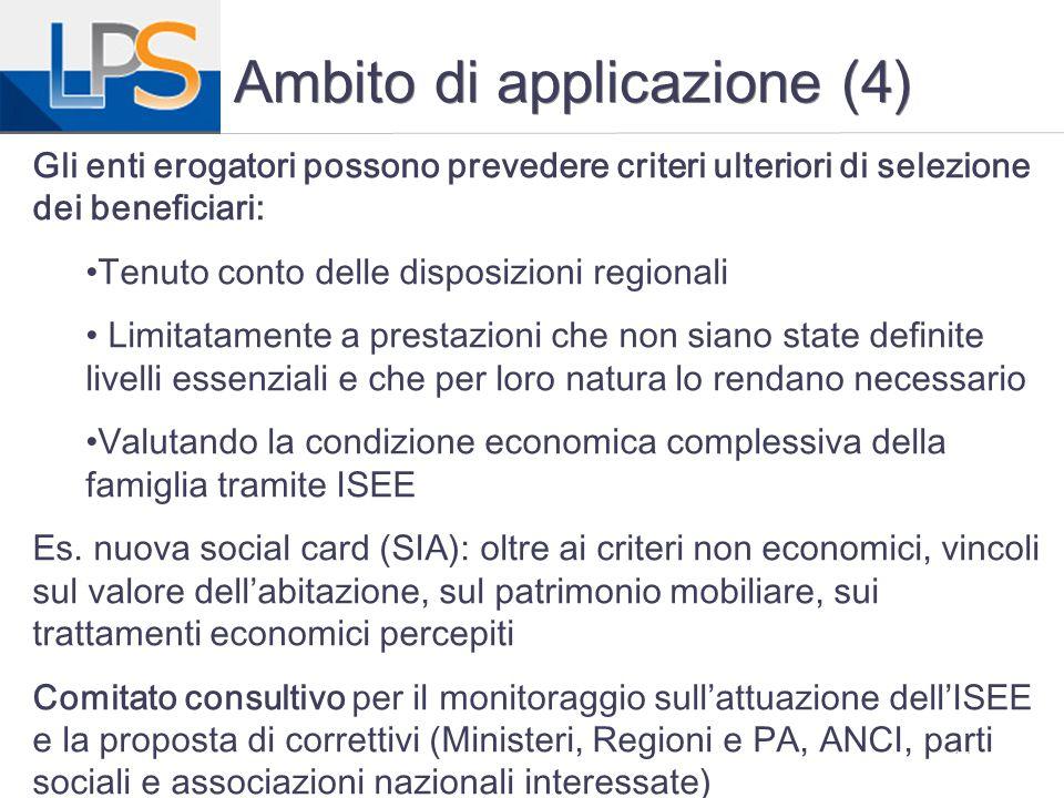 Ambito di applicazione (4)
