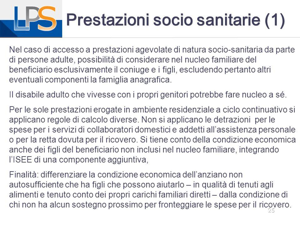 Prestazioni socio sanitarie (1)