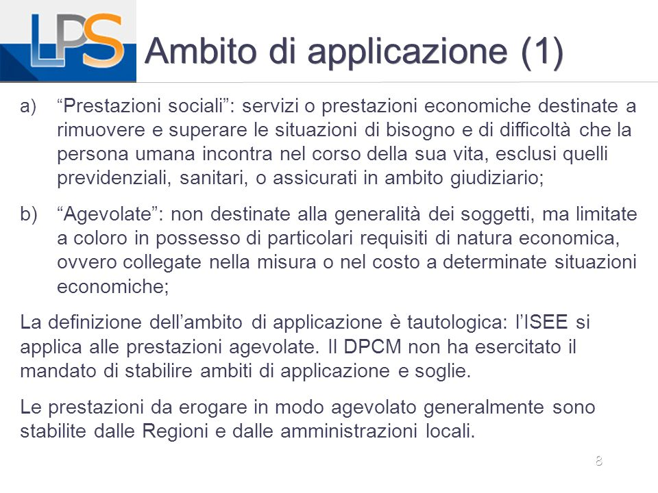 Ambito di applicazione (1)