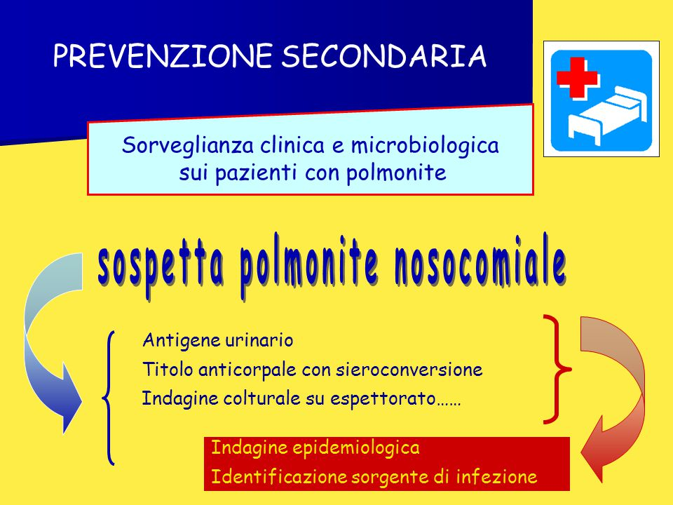 sospetta polmonite nosocomiale