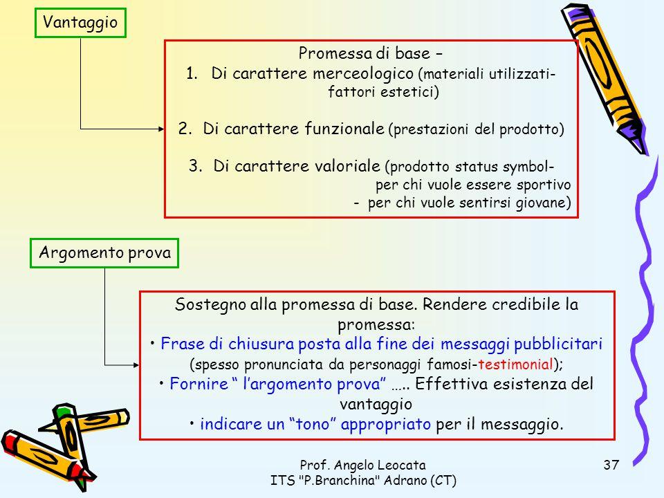 Di carattere merceologico (materiali utilizzati-fattori estetici)