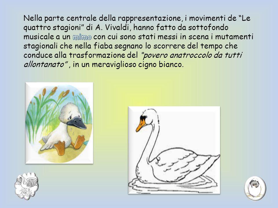 Nella parte centrale della rappresentazione, i movimenti de Le quattro stagioni di A.