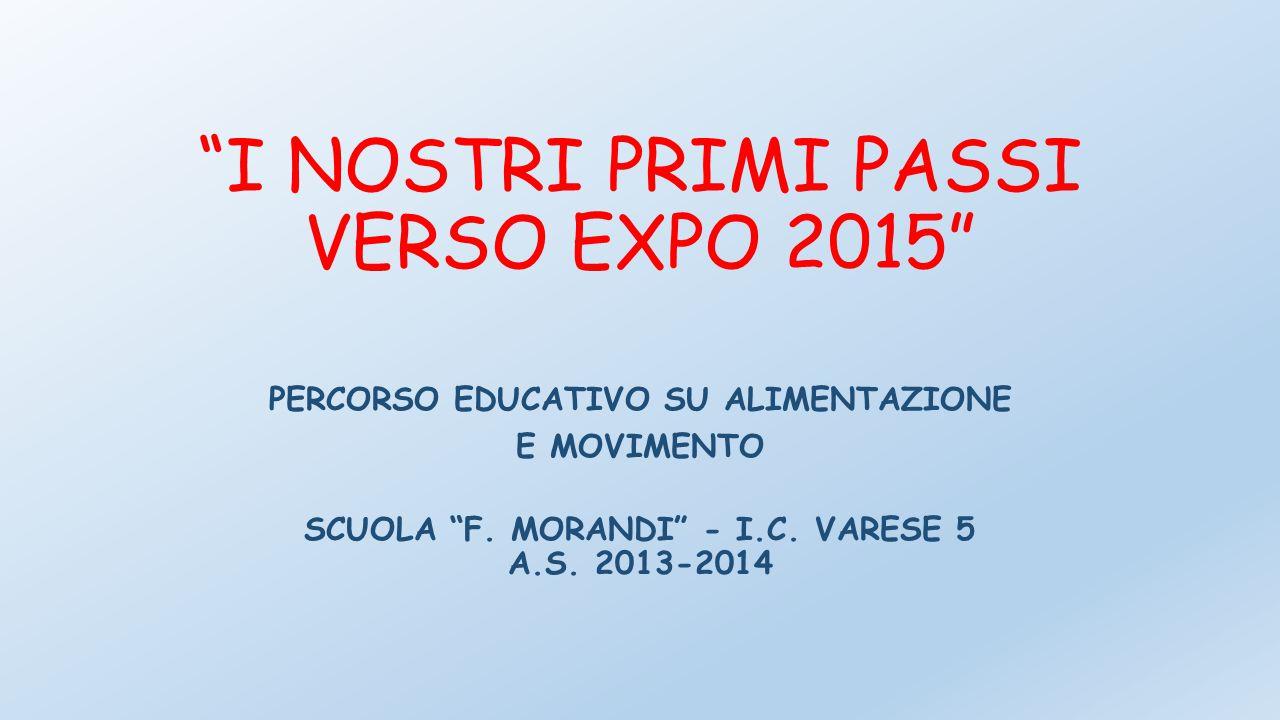 I NOSTRI PRIMI PASSI VERSO EXPO 2015