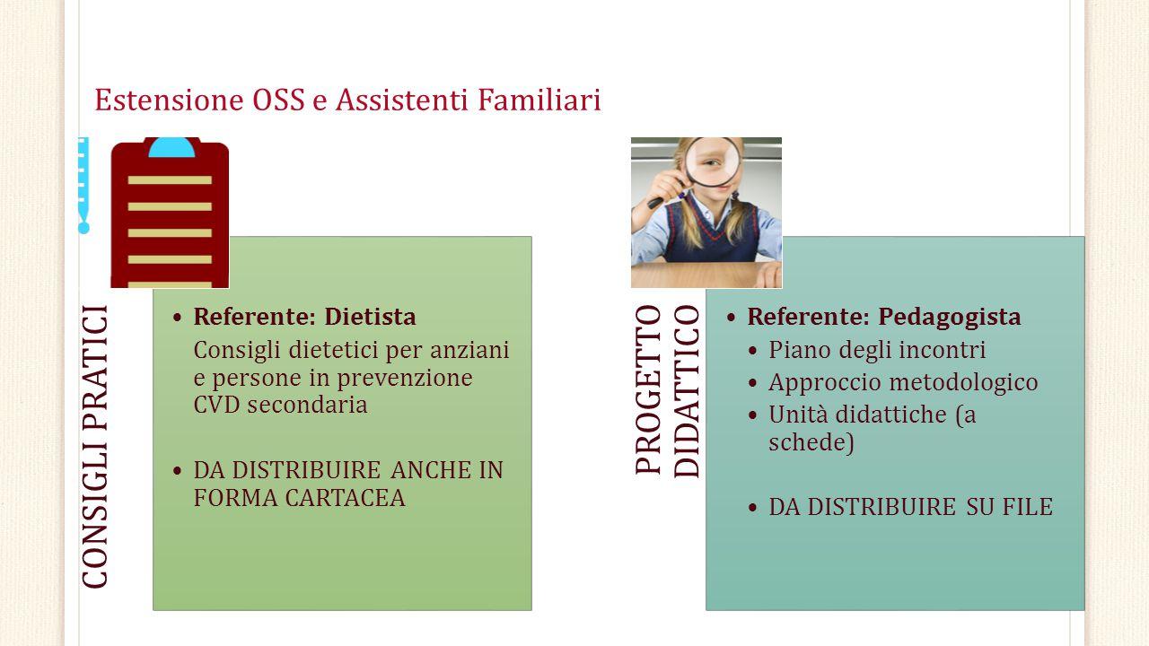 Estensione OSS e Assistenti Familiari