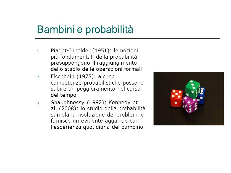 Bambini e probabilità