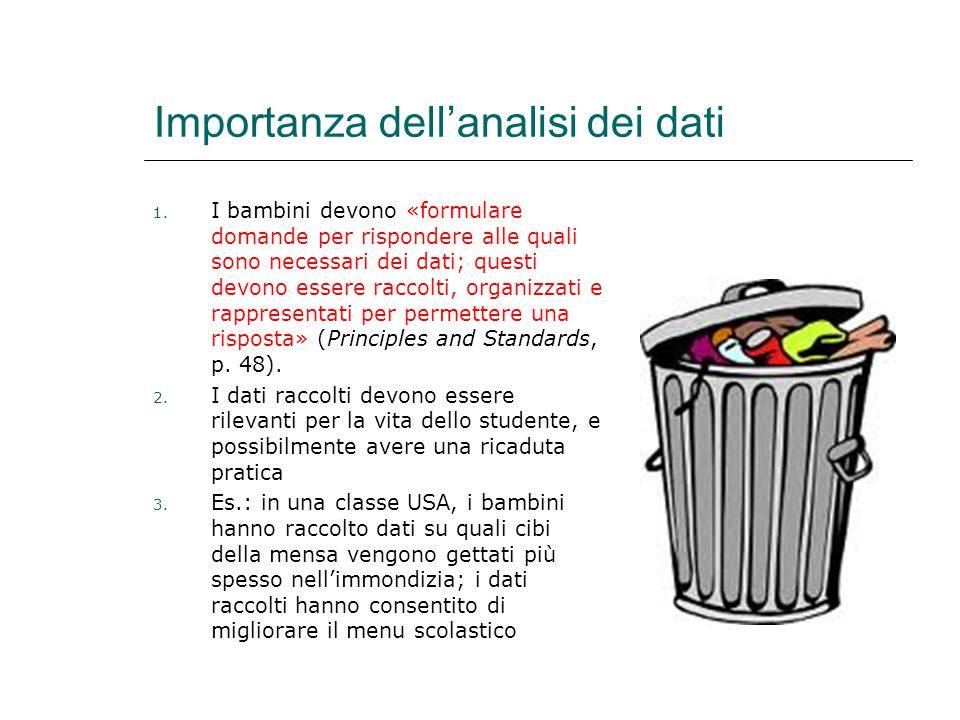 Importanza dell'analisi dei dati