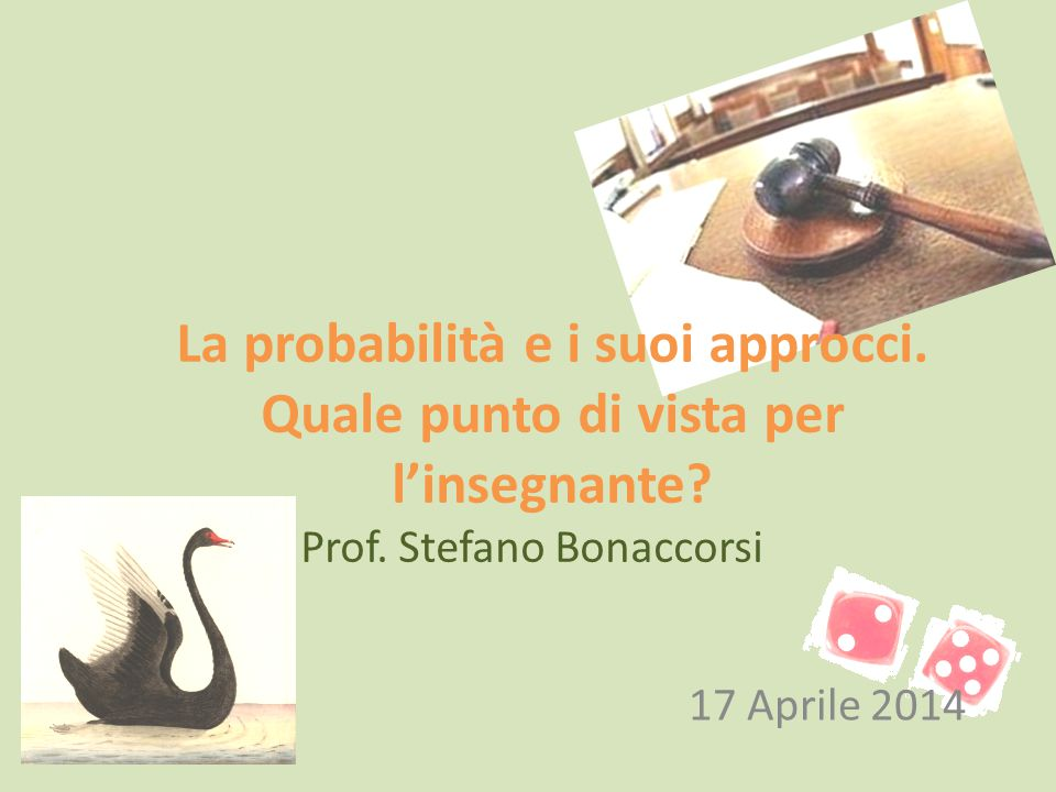 Prof. Stefano Bonaccorsi