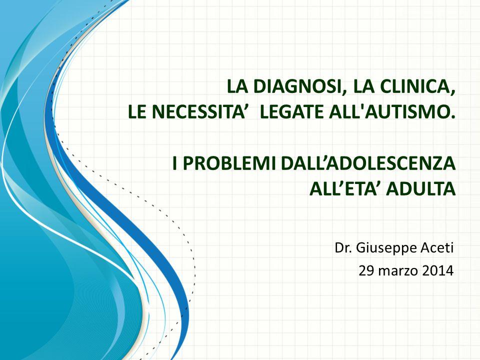 Dr. Giuseppe Aceti 29 marzo 2014