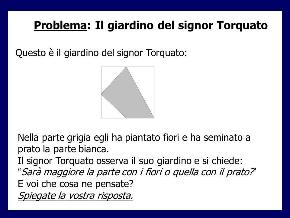 Problema: Il giardino del signor Torquato