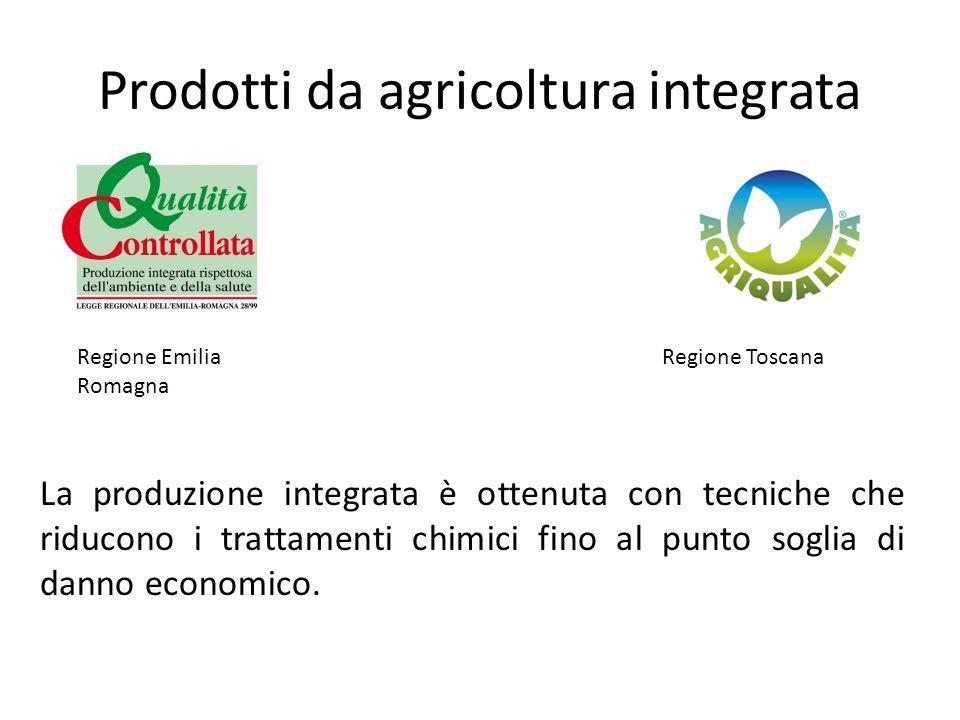 Prodotti da agricoltura integrata