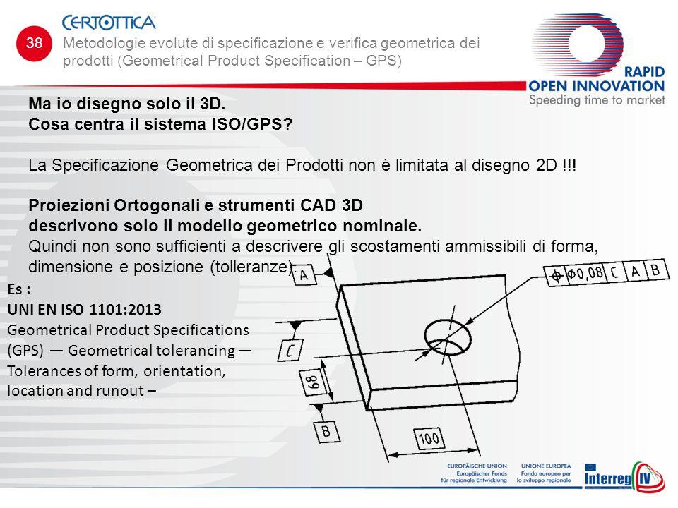 Cosa centra il sistema ISO/GPS