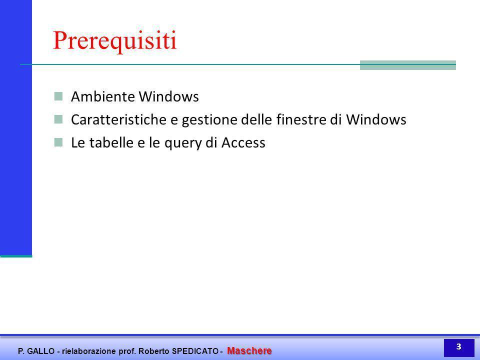 Prerequisiti Ambiente Windows
