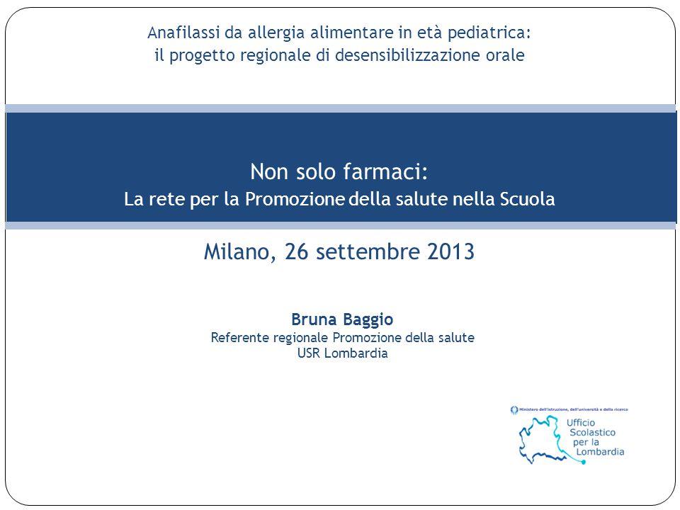 Non solo farmaci: Milano, 26 settembre 2013