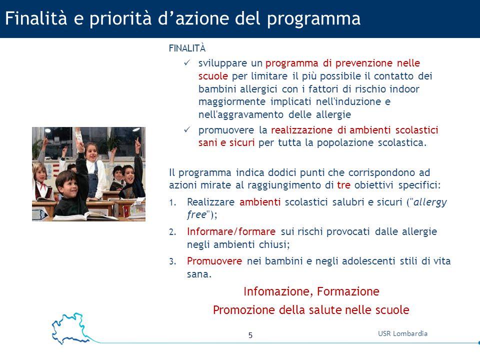 Finalità e priorità d'azione del programma