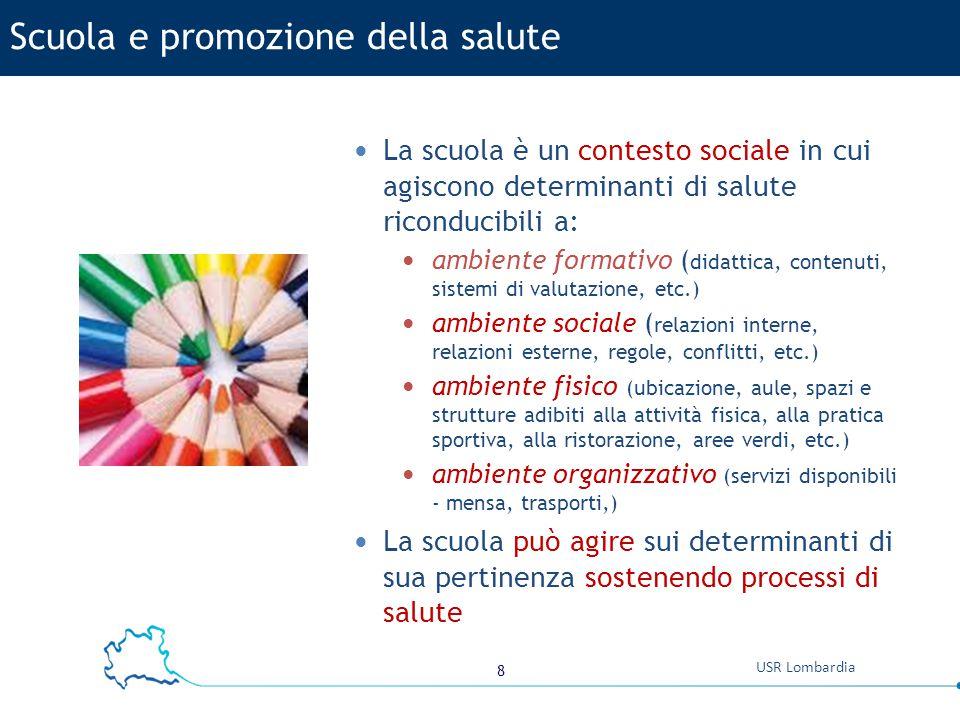 Scuola e promozione della salute