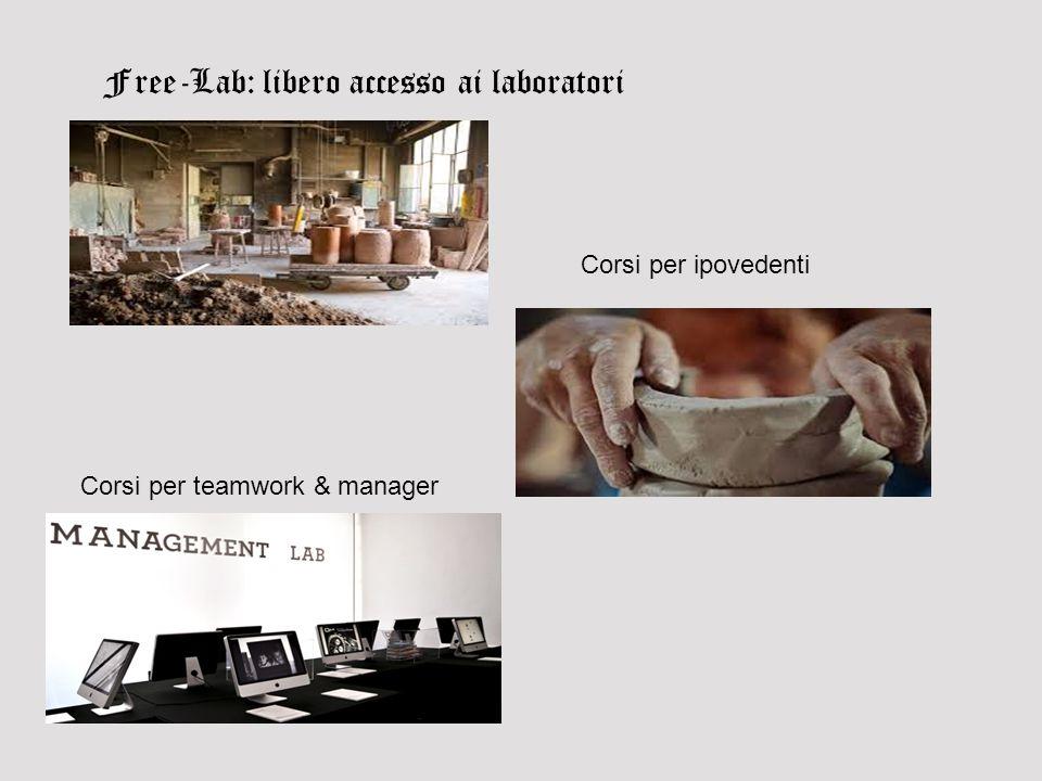 Free-Lab: libero accesso ai laboratori